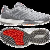 Alternate View 6 of CODECHAOS SPORT Men's Golf Shoe - Grey/Red