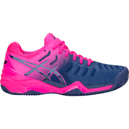 Asics GEL-Resolution 7 Women's Tennis Shoe - Navy/Pink