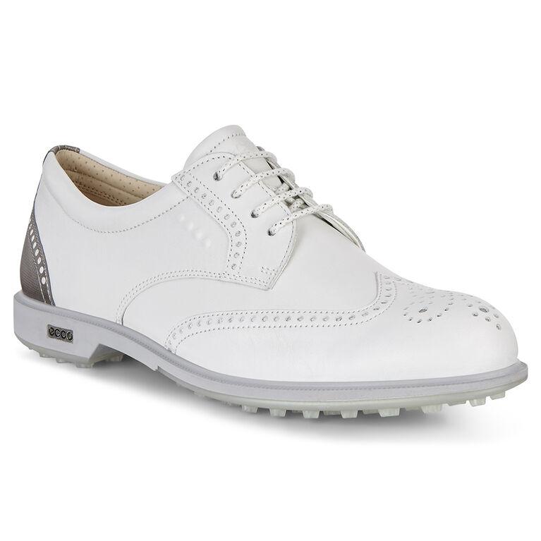 ECCO Classic Hybrid Women's Golf Shoe - White/Silver