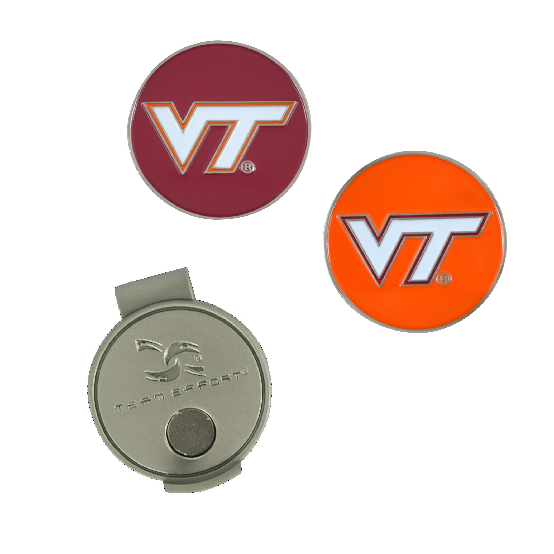 reputable site f639d 04a6c ... discount code for team effort virginia tech hokies hat clip 34c5c b0c52