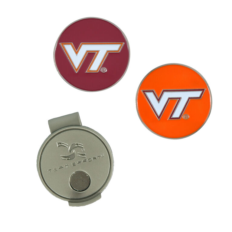 Team Effort Virginia Tech Hokies Hat Clip
