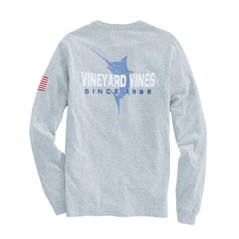 Vineyard Vines Long-Sleeve 98 Marlin Pocket T-Shirt