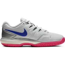 Air Zoom Prestige Women's Tennis Shoe - Grey/Pink
