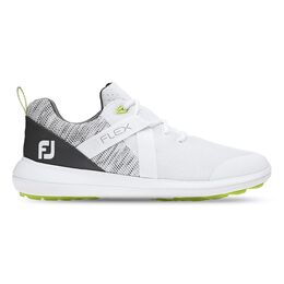 FJ Flex Men's Golf Shoe - White