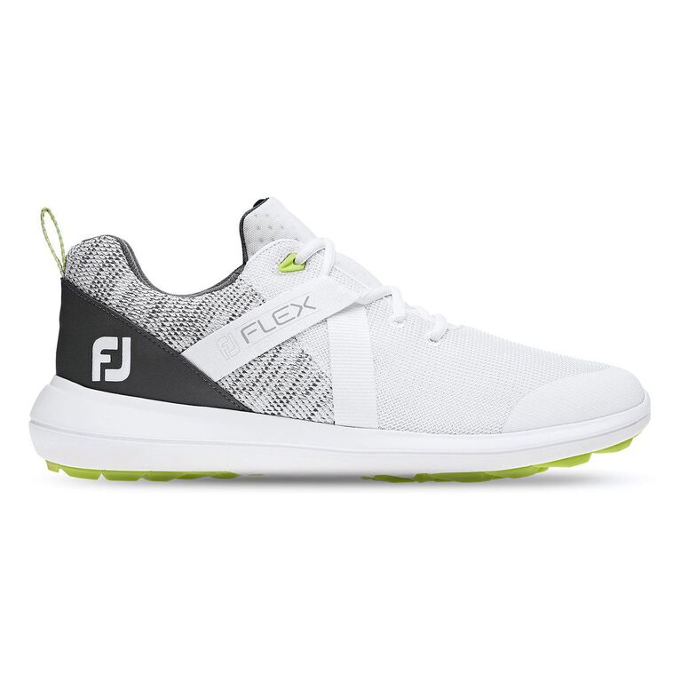 FJ Flex Men's Golf Shoe - White