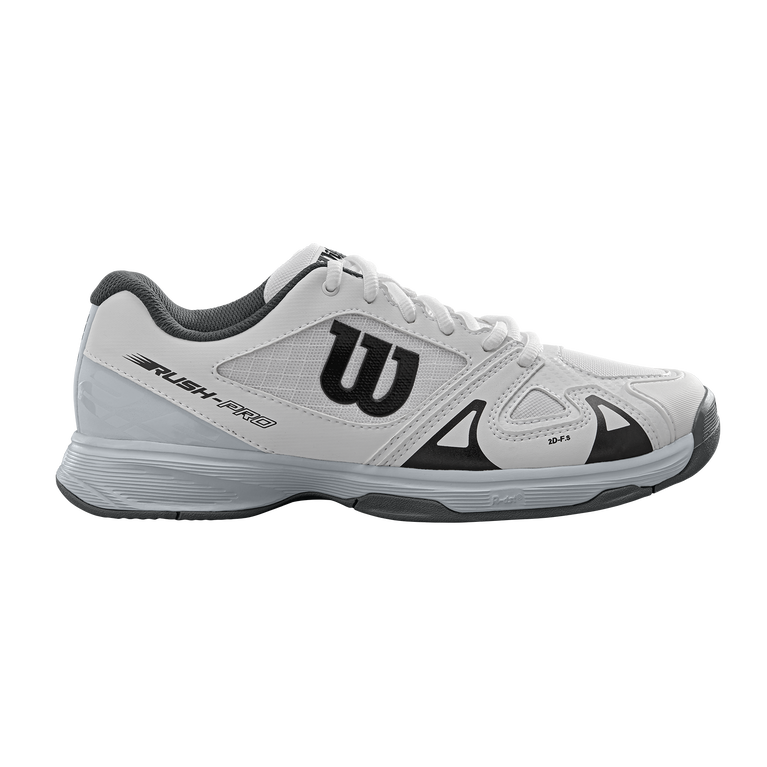 Wilson Rush Pro Jr 2.5 Tennis Shoe - White/Blue