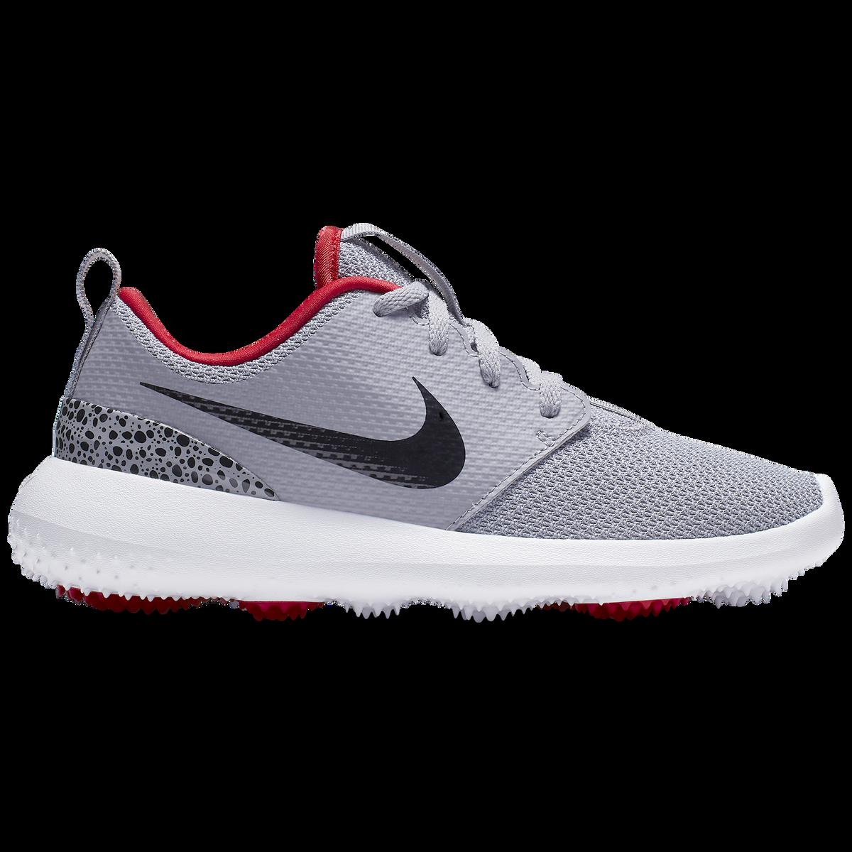 f730674998 Nike Roshe G Jr. Golf Shoe - Grey/Black | PGA TOUR Superstore