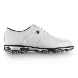 DryJoys Tour Men's Golf Shoe - White