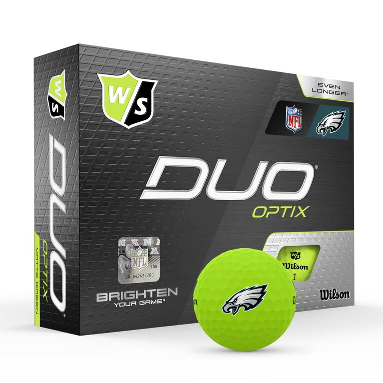 DUO Optix NFL Golf Balls - Philadelphia Eagles