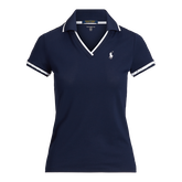 Alternate View 3 of Ruffle-Trim Cricket Golf Polo Shirt