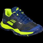 Babolat Jet Mach II All Court Men's Tennis Shoe - Blue/Yellow