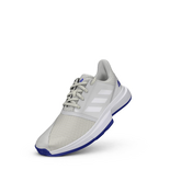 Alternate View 2 of ADIWEAR™ 6 CourtJam XJ Junior's Tennis Shoe - Off White/Royal Blue