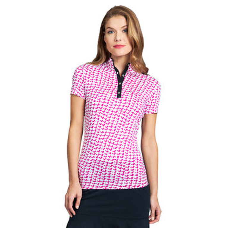 360 by Tail Right Angle Short Sleeve Top
