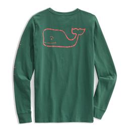 Vintage Whale Long Sleeve Tee