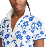 Alternate View 2 of Short Sleeve Floral Print Polo