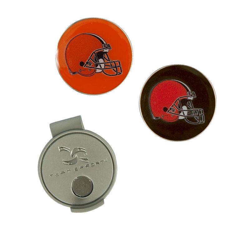 Team Effort Cleveland Browns Hat Clip & Ball Marker