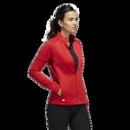 Full Zip Textured Layer Jacket