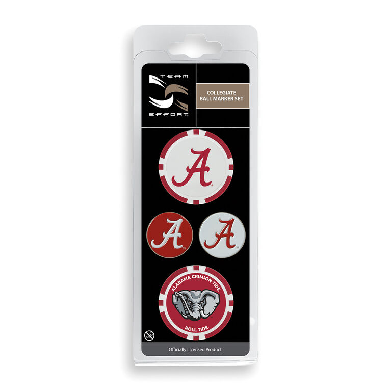 Team Effort Alabama Ball Marker Set