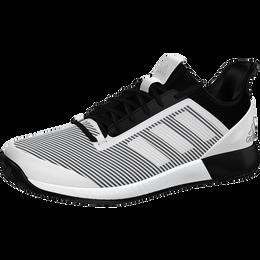 Adizero Defiant Bounce 2 Men's Tennis Shoes - White/Black