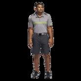 Ultimate365 3-Stripes Heathered Polo Shirt