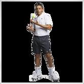 "Alternate View 3 of NikeCourt Dri-FIT Flex Ace 9"" Printed Short"