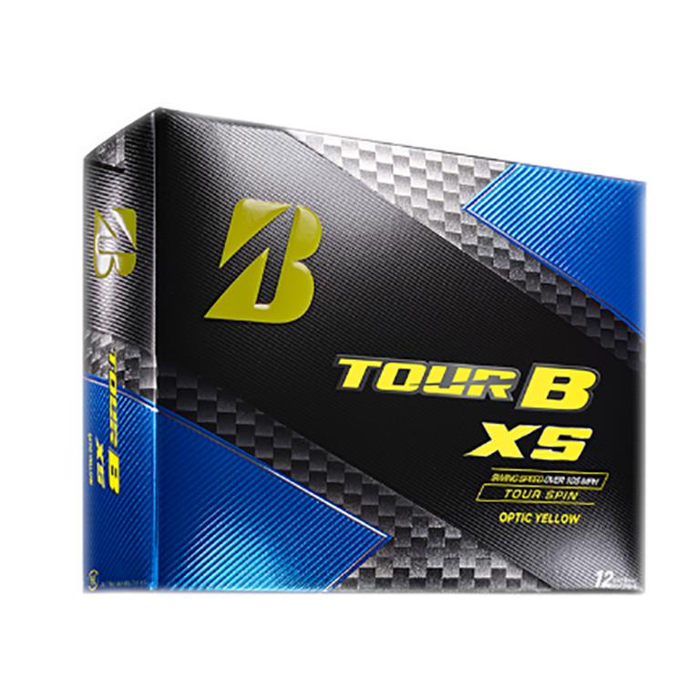 Tour B XS Yellow Golf Balls