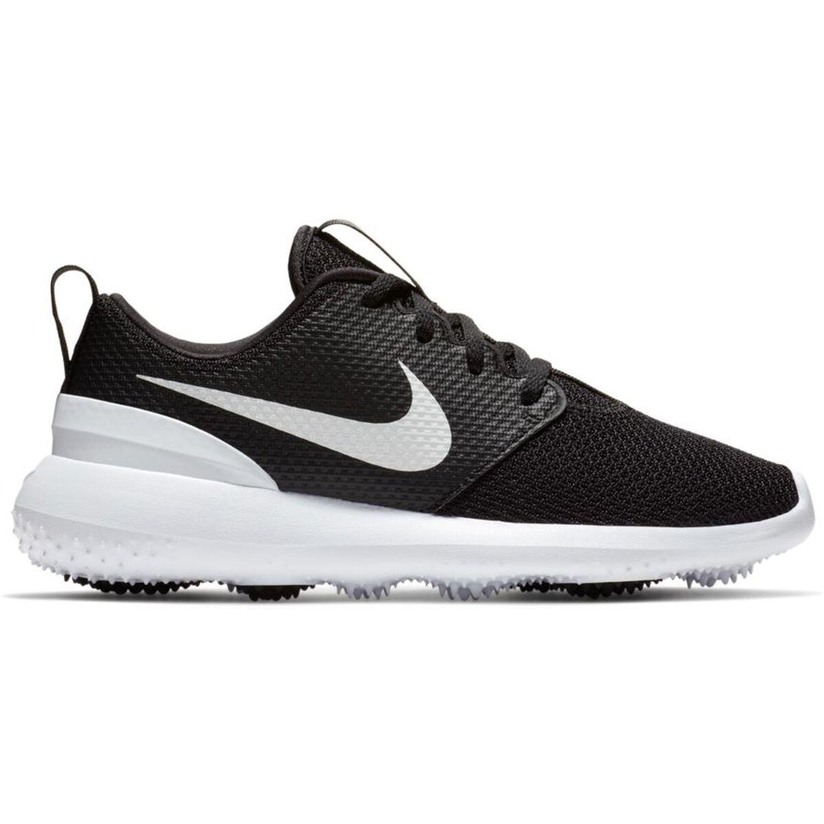 66a8e71af66 Nike Roshe G Junior Golf Shoe - Black White