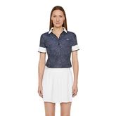 Lexie Short Sleeve Dot Polo Shirt