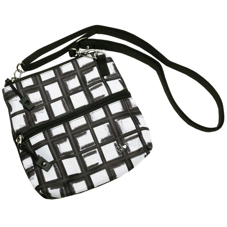 Abstract Pane Zip Bag