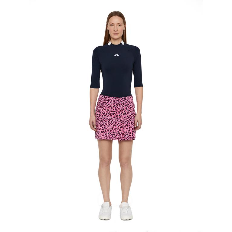 Thea TX Jersey Leopard Skirt