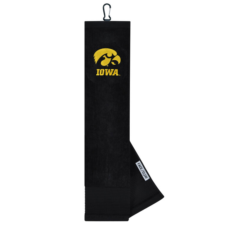 Team Effort Iowa Hawkeyes Tri-Fold Towel