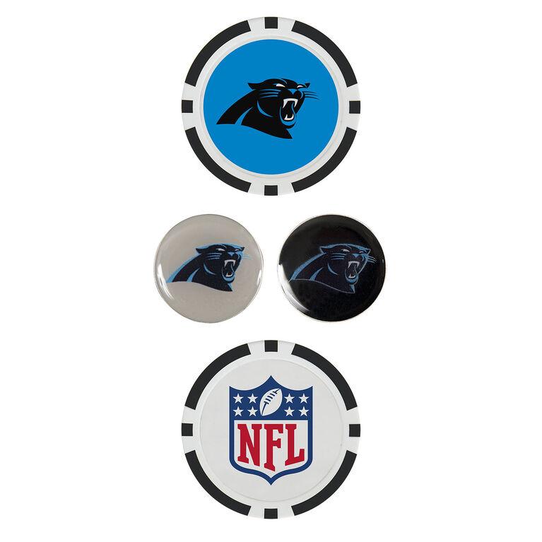 Team Effort Carolina Panthers Ball Marker Set