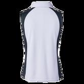 Alternate View 1 of Colorblock Sleeveless Polo Shirt