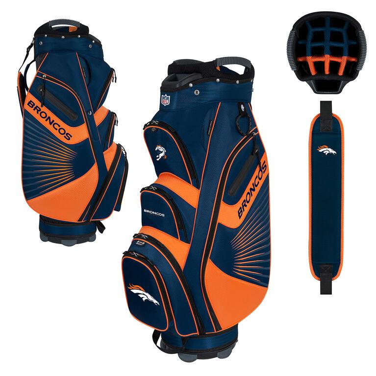 NFL Denver Broncos Bucket II Cooler Cart Bag