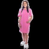 Austin Short Sleeve All Over Maize Print Dress