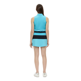 Alternate View 4 of Tess Sleeveless Striped Polo Shirt
