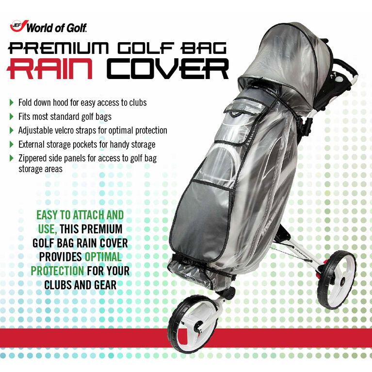Golf Bag Rain Hood in package
