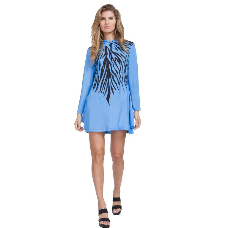 Jamie Sadock Sunsense Zebra Stripe Dress