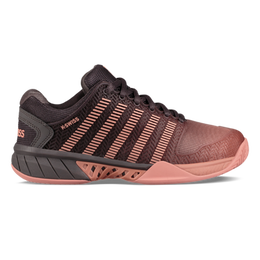 Hypercourt Express Women's Tennis Shoe - Grey/Pink