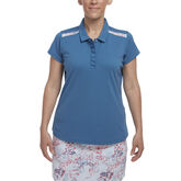 Hibiscus Group: Short Sleeve Shoulder Trim Polo