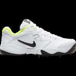NikeCourt Lite 2 Men's Hard Court Tennis Shoe - White/Yellow