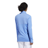 Alternate View 4 of Minted Blues Collection: Half-Zip Solid Pull Over Jacket