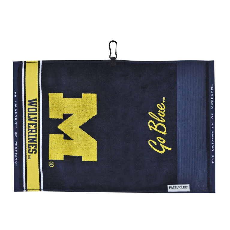 Team Effort Michigan Jacquard Towel