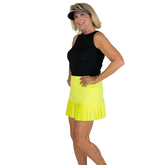 Alternate View 3 of Limonata Collection: Knife Pleated Golf Skort