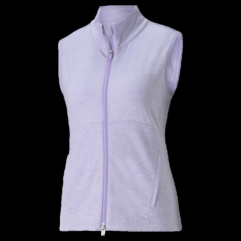 CLOUDSPUN Heather Full Zip Vest