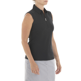 Alternate View 2 of Sleeveless Nikki Polo Shirt