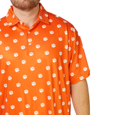 Alternate View 1 of Clemson Tiger Paw Polo