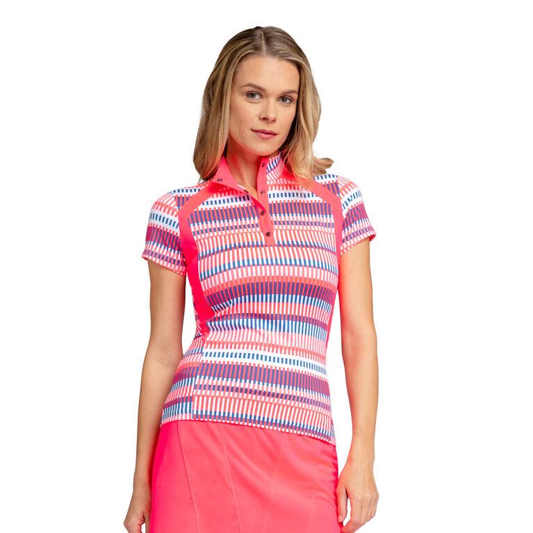Royal Group: Cecelia Batik Stripe Top