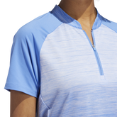 Alternate View 6 of Minted Blues Collection: Ombre Short Sleeve Polo Shirt