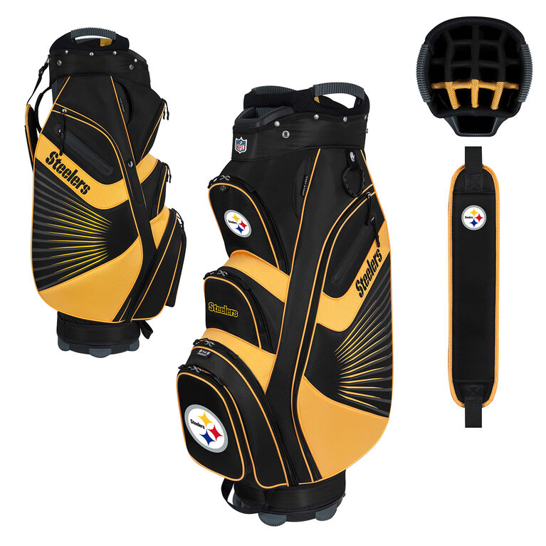 NFL Pittsburgh Steelers Bucket II Cooler Cart Bag